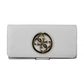 Cartera Güess Jade SLG White Multi