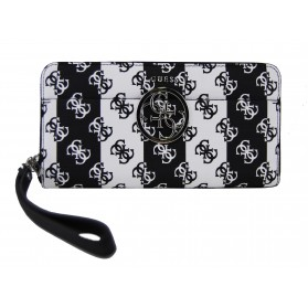 Cartera Güess Kamryn SLG Black Stripe