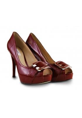 Zapato Tacón Guess Rojo