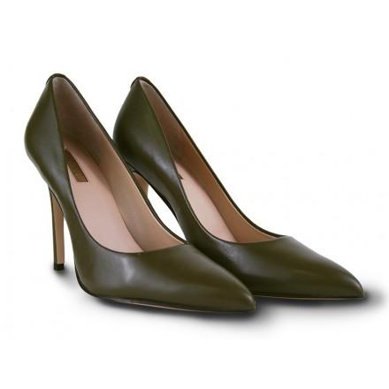 Zapato salón Guess Verde Oliva Mujer