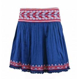 Falda Pepe Jeans Azul Estampada