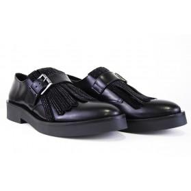 Zapato Guess Lengüeta Strass Negro