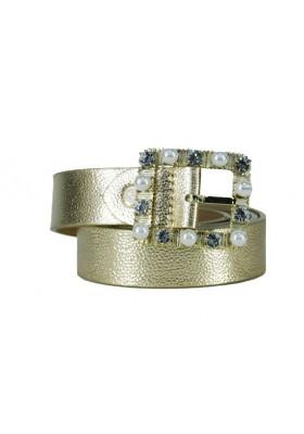 Cinturón Güess Gold Pearls