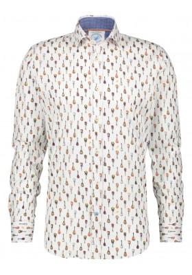 Camisa de la firma A Fish Named Fred para hombre